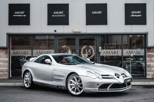 2005 05 Mercedes-Benz SLR McLaren Left Hand Drive For Sale (picture 1 of 6)