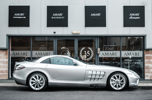 2005 05 Mercedes-Benz SLR McLaren Left Hand Drive For Sale (picture 2 of 6)