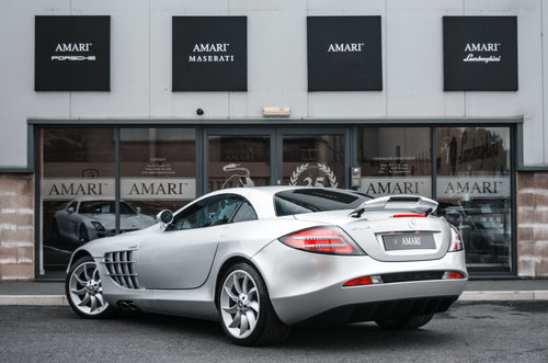 2005 05 Mercedes-Benz SLR McLaren Left Hand Drive For Sale (picture 3 of 6)