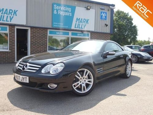2007 Mercedes SL350 stunning condition only 31,000 For Sale (picture 1 of 6)