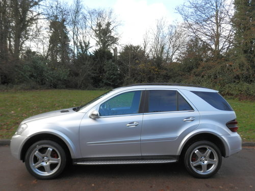 Mercedes ML280 CDi Sport.. Rare Factory AMG Spec.. FSH SOLD (picture 1 of 6)