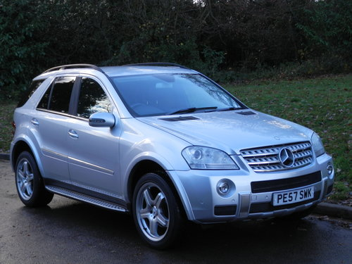 Mercedes ML280 CDi Sport.. Rare Factory AMG Spec.. FSH SOLD (picture 2 of 6)
