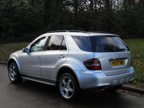 Mercedes ML280 CDi Sport.. Rare Factory AMG Spec.. FSH SOLD (picture 5 of 6)