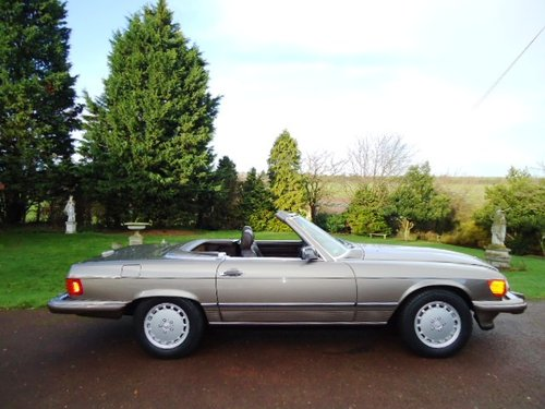 Mercedes 560SL Sports 1988 LHD For Sale (picture 2 of 6)