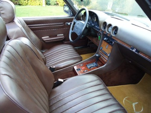 Mercedes 560SL Sports 1988 LHD For Sale (picture 4 of 6)