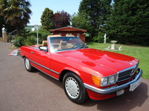 Mercedes 560SL Sports 1988 LHD For Sale (picture 1 of 6)