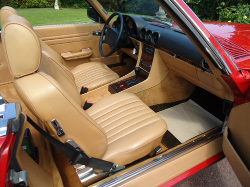 Mercedes 560SL Sports 1988 LHD For Sale (picture 3 of 6)