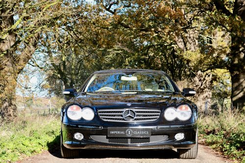 2003 Mercedes Benz SL350 19,000 Miles For Sale (picture 1 of 6)