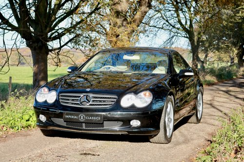 2003 Mercedes Benz SL350 19,000 Miles For Sale (picture 2 of 6)