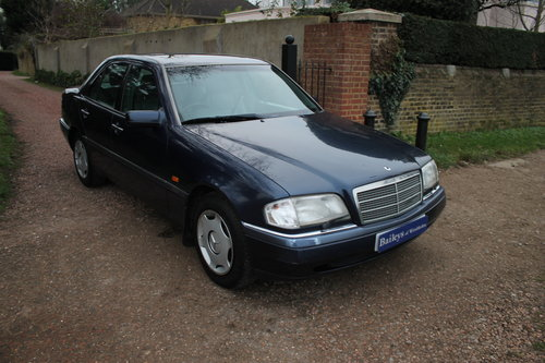 1996 Mercedes Benz C280 Elegance Automatic W202 With Low Mileage For Sale (picture 1 of 6)