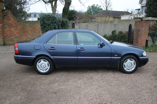 1996 Mercedes Benz C280 Elegance Automatic W202 With Low Mileage For Sale (picture 2 of 6)