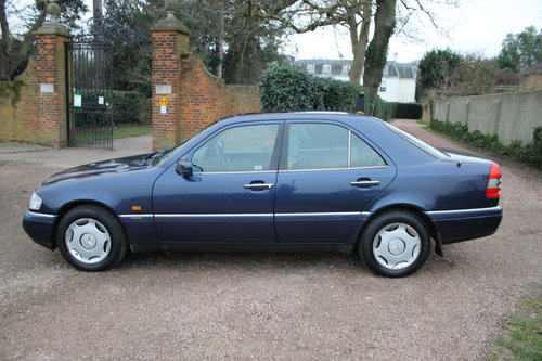 1996 Mercedes Benz C280 Elegance Automatic W202 With Low Mileage SOLD (picture 3 of 6)