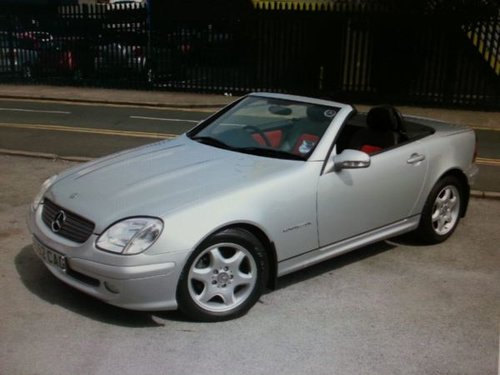 2001 MERCEDES SPORT CABRIOLET SLK 200K Tip Auto Very Low Miles For Sale (picture 2 of 5)