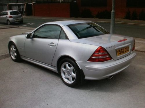 2001 MERCEDES SPORT CABRIOLET SLK 200K Tip Auto Very Low Miles For Sale (picture 3 of 5)