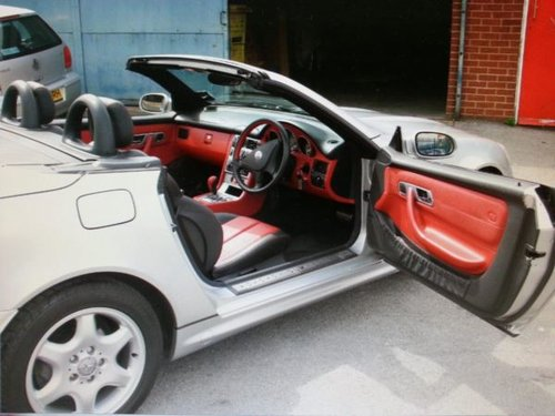 2001 MERCEDES SPORT CABRIOLET SLK 200K Tip Auto Very Low Miles For Sale (picture 5 of 5)