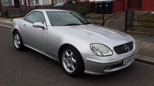 2002 Mercedes slk 230 kompressor auto 81000 original mi For Sale (picture 2 of 6)