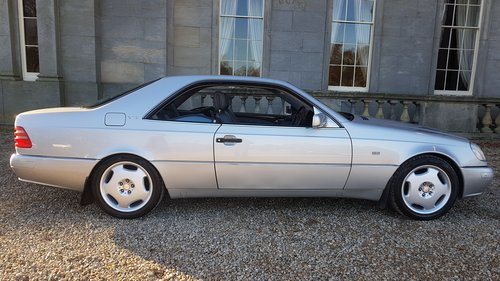 1998 R Mercedes CL600 V12 140 Series Coupe For Sale (picture 2 of 6)