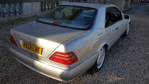 1998 R Mercedes CL600 V12 140 Series Coupe For Sale (picture 3 of 6)