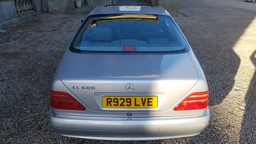 1998 R Mercedes CL600 V12 140 Series Coupe For Sale (picture 4 of 6)