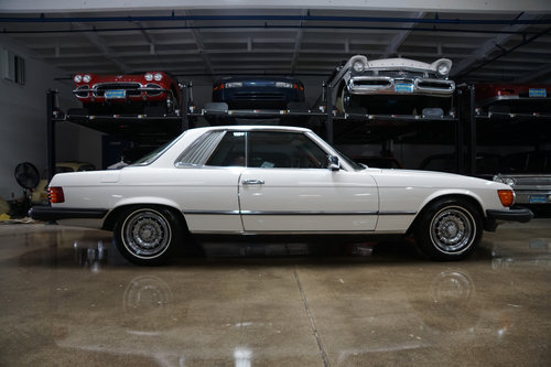 1981 Mercedes 380 SLC with 1 Calif Owner & 66K orig miles For Sale (picture 2 of 6)