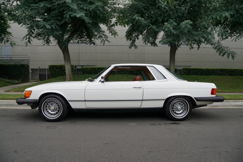 1981 Mercedes 380 SLC with 1 Calif Owner & 66K orig miles For Sale (picture 3 of 6)