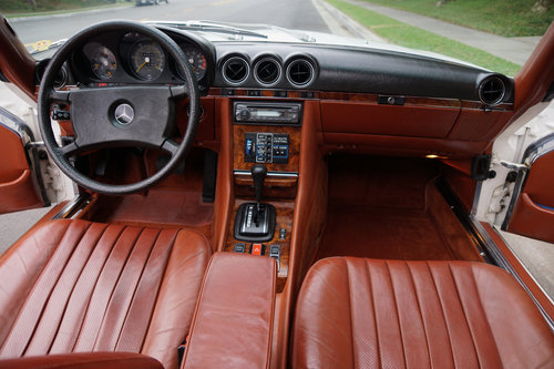 1981 Mercedes 380 SLC with 1 Calif Owner & 66K orig miles For Sale (picture 5 of 6)