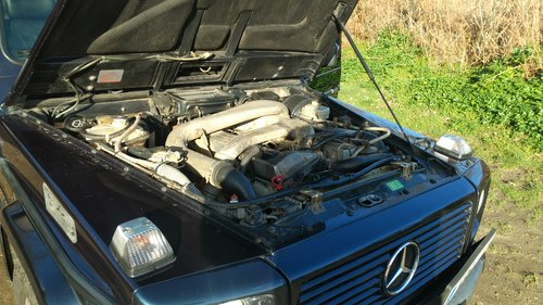 1996 G Wagen LWB 5 Door Diesel Automatic (LHD)  For Sale (picture 2 of 6)