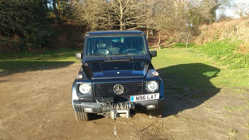 1996 G Wagen LWB 5 Door Diesel Automatic (LHD)  For Sale (picture 3 of 6)