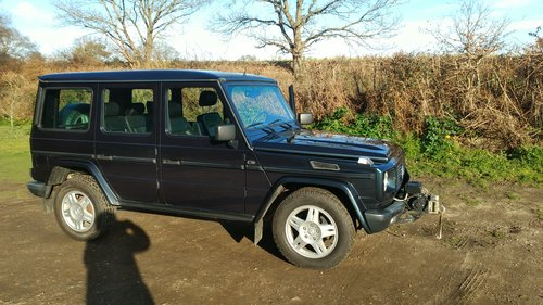 1996 G Wagen LWB 5 Door Diesel Automatic (LHD)  For Sale (picture 6 of 6)