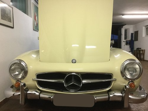 1958 190 SL W121 Completely restored Top condition! For Sale (picture 5 of 6)
