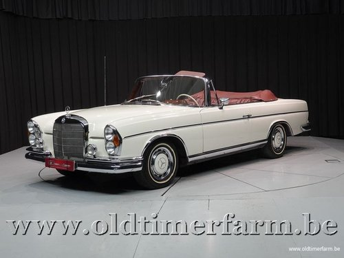 1965 Mercedes-Benz 300SE Cabriolet White '65 For Sale (picture 1 of 6)