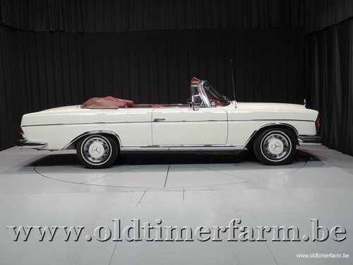 1965 Mercedes-Benz 300SE Cabriolet White '65 For Sale (picture 3 of 6)