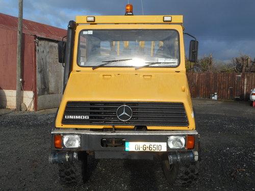 2001 Mercedes benz unimog u101l SOLD | Car And Classic