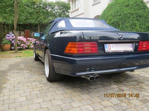 1992 Mercedes SL 600 - V12 For Sale (picture 2 of 6)