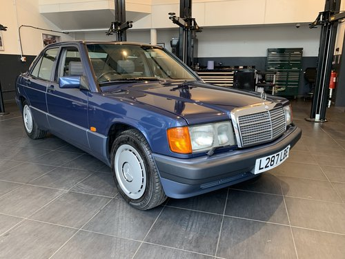 1994 Mercedes 190E 2.6 (ONE OWNER 28661 MILES FROM NEW) SOLD (picture 1 of 6)