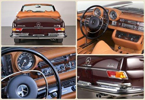 1970 Restored Mercedes 280 SE 3.5 Cabriolet For Sale (picture 5 of 6)
