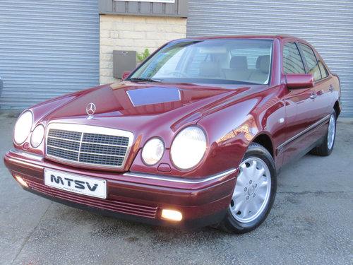 1999 Mercedes W210 E280 V6 Elegance - 19K - FSH - Simply Pristine SOLD (picture 1 of 6)