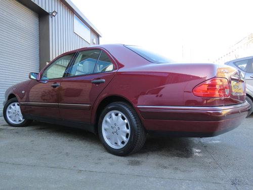 1999 Mercedes W210 E280 V6 Elegance - 19K - FSH - Simply Pristine SOLD (picture 2 of 6)