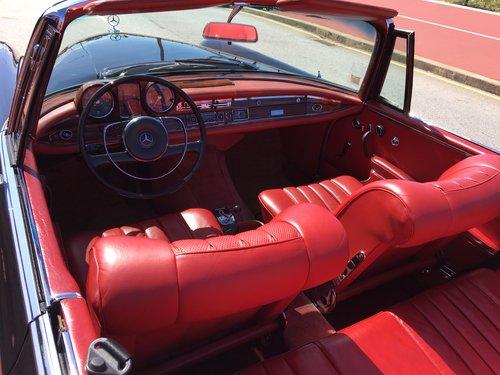 1967 MERCEDES 250SE CONVERTIBLE CABRIO se For Sale (picture 2 of 6)