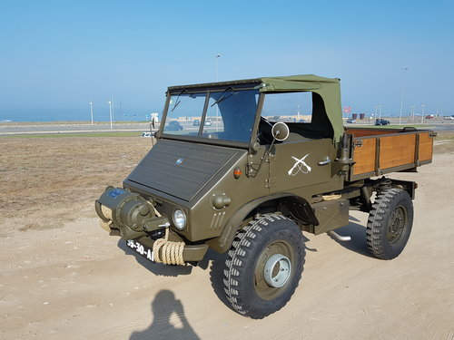 1975 Mercedes Benz Unimog 411 SOLD   Car and Classic