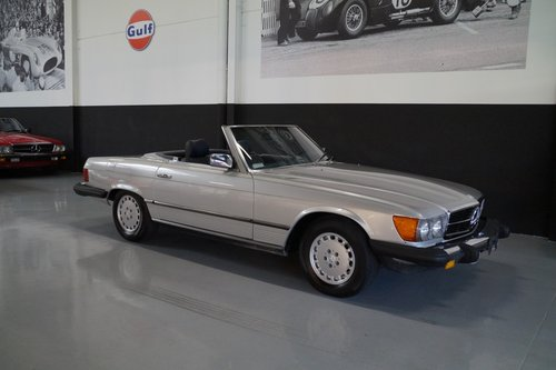 MERCEDES-BENZ SL-KLASSE 380 SL (1984) For Sale (picture 1 of 6)