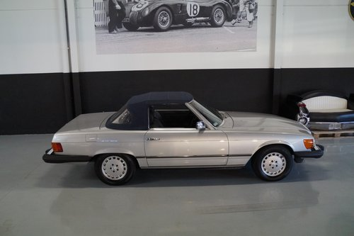 MERCEDES-BENZ SL-KLASSE 380 SL (1984) For Sale (picture 5 of 6)