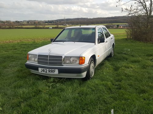 Mercedes 190D Diesel 5sp Manual Full Service History 1991 For Sale (picture 1 of 6)