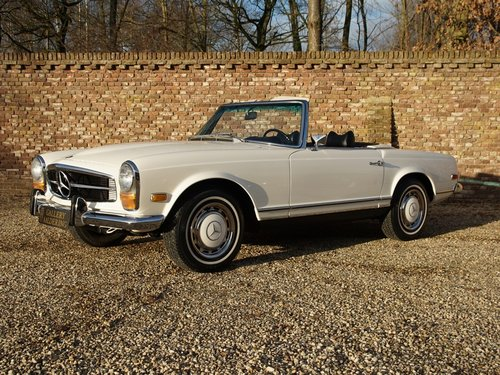 1970 Mercedes Benz 280SL Pagode manual, fully restored condition For Sale (picture 1 of 6)
