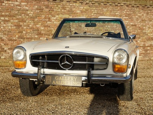 1970 Mercedes Benz 280SL Pagode manual, fully restored condition For Sale (picture 5 of 6)