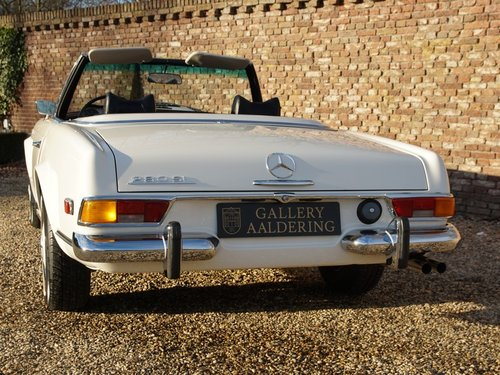1970 Mercedes Benz 280SL Pagode manual, fully restored condition For Sale (picture 6 of 6)