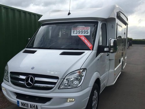 IH Camper on Mercedes Sprinter 2011 REDUCED PRICE For Sale (picture 1 of 6)