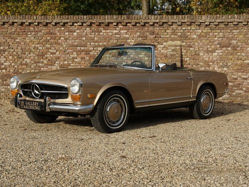 1969 Mercedes Benz 280SL Pagode matching numbers and colours, TOP For Sale (picture 1 of 6)
