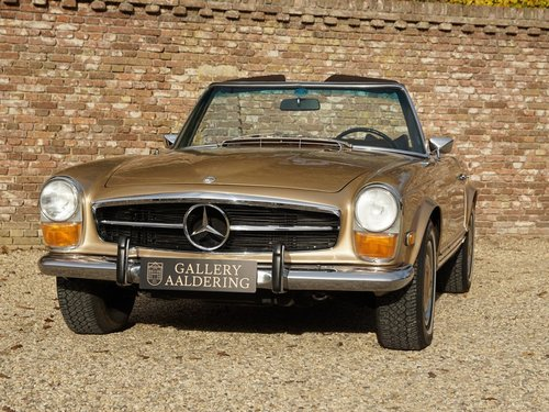 1969 Mercedes Benz 280SL Pagode matching numbers and colours, TOP For Sale (picture 5 of 6)