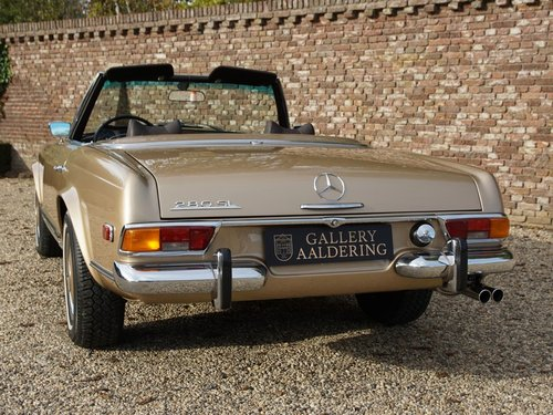 1969 Mercedes Benz 280SL Pagode matching numbers and colours, TOP For Sale (picture 6 of 6)